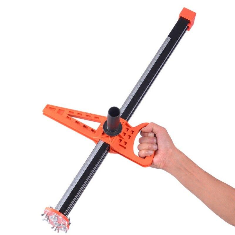 Découpeuse manuelle de cloison sèche de panneau de gypse de 20-600mm avec le coupeur de lames de 10 pièces facile à utiliser