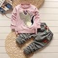 Мальчик одежда мода мальчик одежда наборы kid Полный одежды + брюки костюм для детей мальчики ребенок одежда детская одежда набор