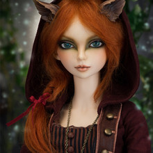 Free shipping high quality resin doll bjd / sd 1/3 doll fairyland FeePle60 moe line Sionna rin mirwen Free eyes