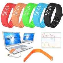 Small Light Simple Fashion Design Smart Watch Built-in 3D High Sensitivity Sensor Sports Health Pedometer Smart Watch Bracelet