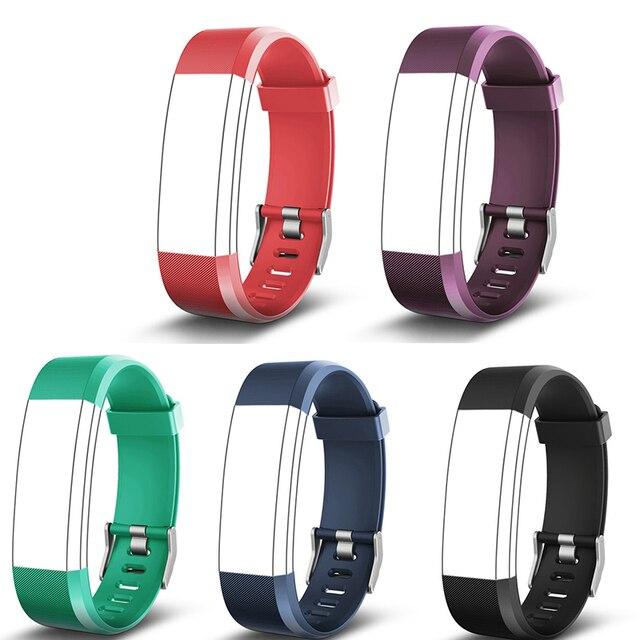 Hembeer ID115HR PLUS Vòng Tay Thông Minh Dây Đeo Thay Thế Watchbands Silicone DÂY 5 Màu Phụ Kiện Đeo Thông Minh
