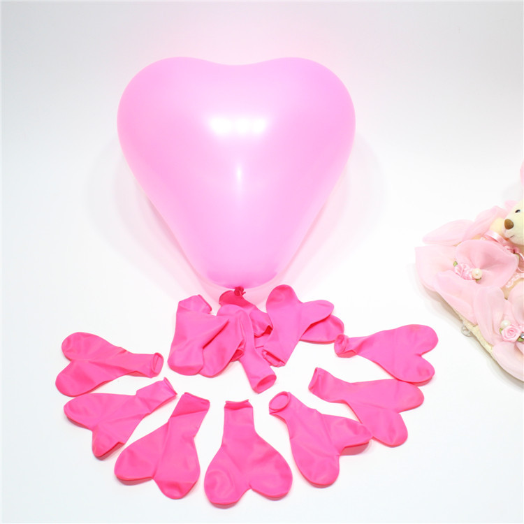 12inch Best Price High 100pcs/lot heart shaped Pearl Latex Balloon Helium Celebration Party Wedding Birthday Balloon