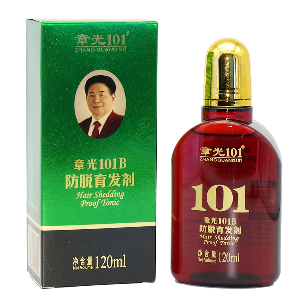 ZHANGGUANG 101B Hair Shedding Proof Tonic powerful anti-hair loss Chinese herbal medicine therapy Hair loss Treatment Essence deoproce argan therapy hair essence