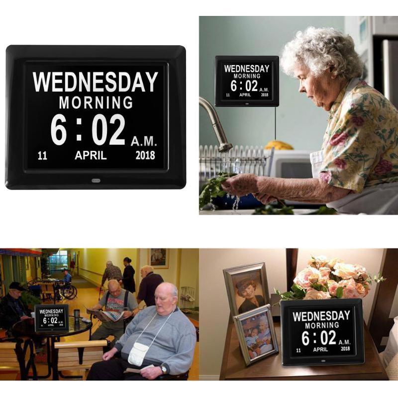 Marcos digitales EU plug 8 pulgadas TFT LCD marco de fotos Digital ...