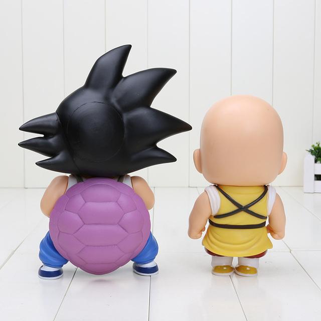 Dragon Ball Z Goku y Krillin Figuras de Acción