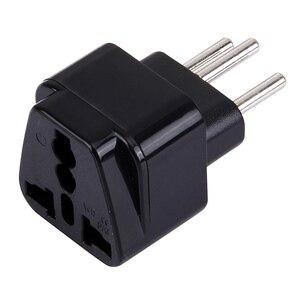 Image 4 - Universele 3pin Zwitserland Conversie Plug Adapter Uk/Us/Eu/Au 3 Pin Zwitserland Travel Plug Type J zwitserse Plug Converter Plug
