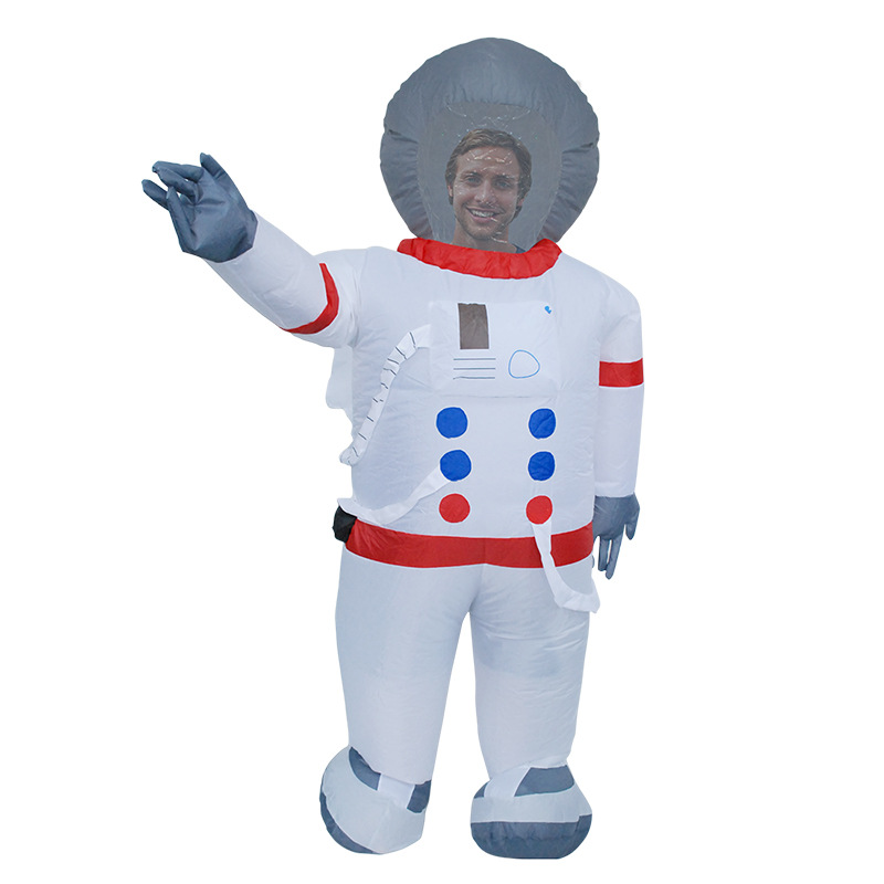 Astronaut Adult Cosplay Costumes Cosmonaut Inflatable Clothes For Men Christmas Carnival Make-up Party Clothing Performance prop