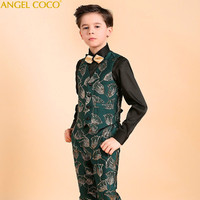 Luxury Boys blazers kids Boys suits for weddings Prom Suits Wedding Dress for Boys Kids Children Clothing Blazers for Boys 2018