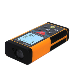 Image 4 - HIREED telémetro Digital trena 40M, 120M, 100M, dispositivo de medida de construcción, medidor de distancia láser de prueba