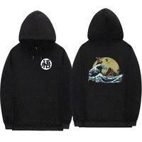 Off white hoodies Print cartoon Turtle Goku dragon ball hoodie hombre dragon ball hoodie sweatshirt