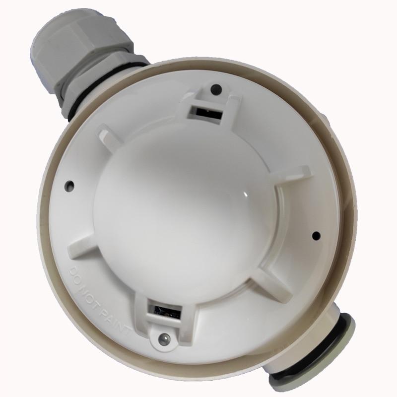 Конвенционални вишенаменски сензор дима и топлоте са 4 жице са релејским излазом водоотпорног аларма комбинације топлоте дима