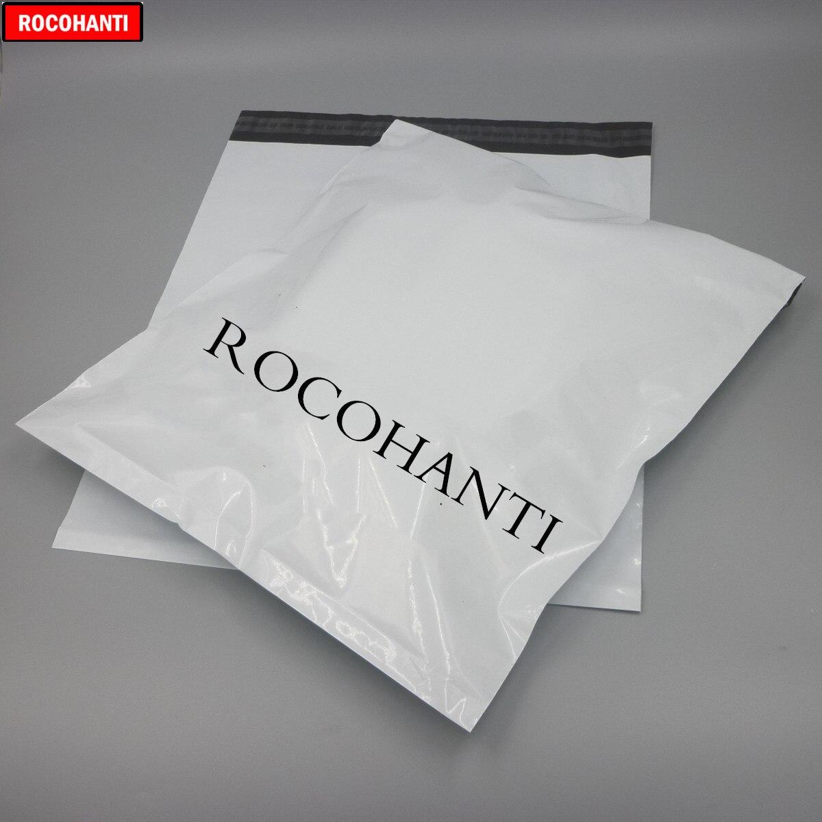 100pcs Custom Plastic Bag Printed Logo