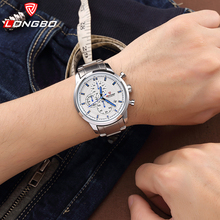 LONGBO Men's Watch Outdoor Sports Clock Quartz Stainless Steel Wristwatch New Male Masculino Watch 80181 30m Waterproof
