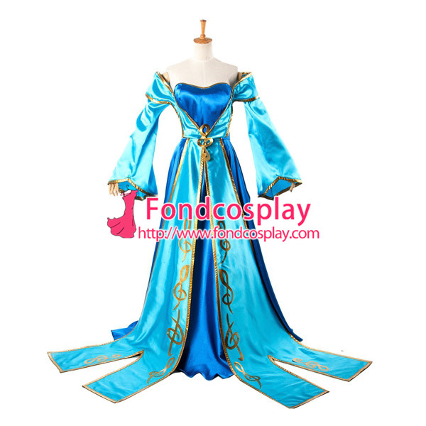 Lol Sona Maven du jeu de robe de cordes Costume Cosplay sur mesure [G933] - 2