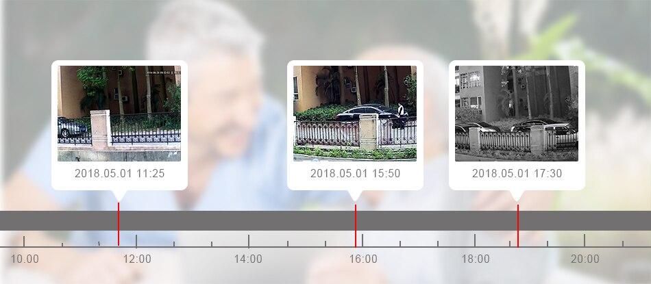 Smar Newest Solar Powered Outdoor Security Camera HD 1080P Wireless IP Camera IR Night Vision Waterproof Surveillance Camera (9)