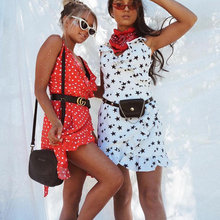 Stars Print Camis Dress