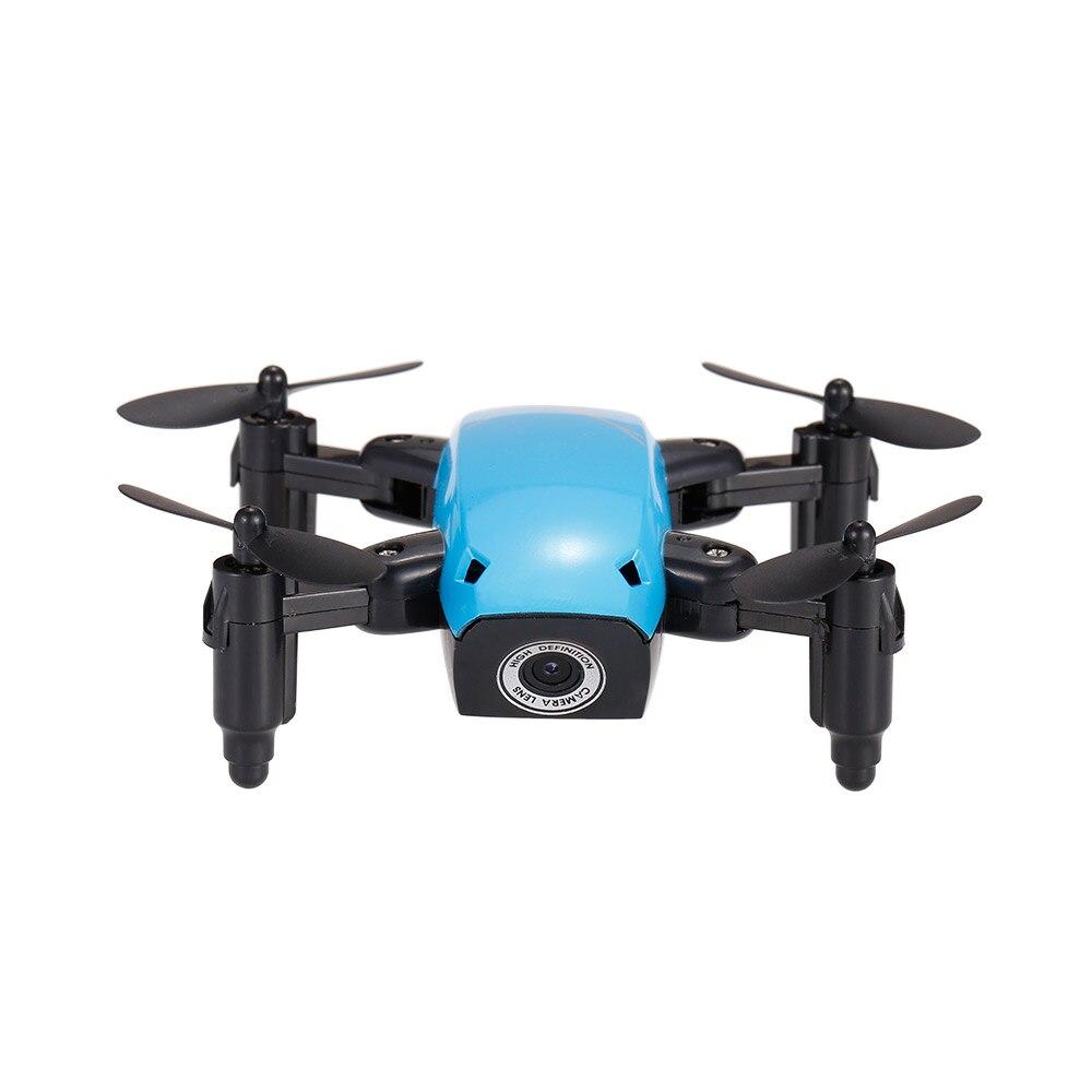 New Cute Mini Drone S9 2.4G 4CH 6-axis Gyro Selfie Drone Headless Mode One Key Return Foldable Dron RC Quadcopter RTF Gift (4)
