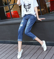 Hole Jeans Women 2016 Hot Sale Style Fashion Quality Pants For Summer / Spring / Autumn Free Shipping JX-706