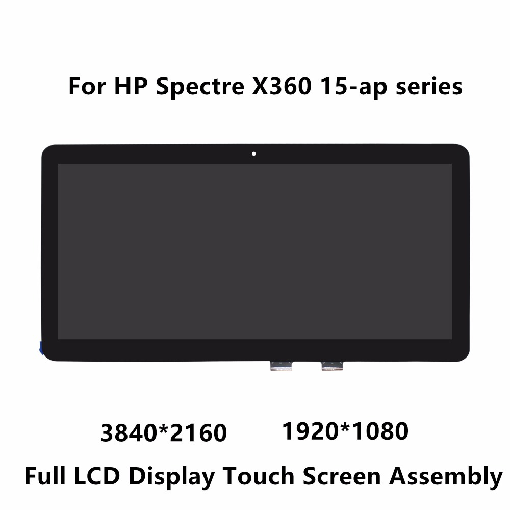 15.6 Full LCD Display Touch Screen Digitizer Glass Assembly For HP Spectre X360 15-ap series 15-ap006ng 15-ap005nf 15-ap002nf