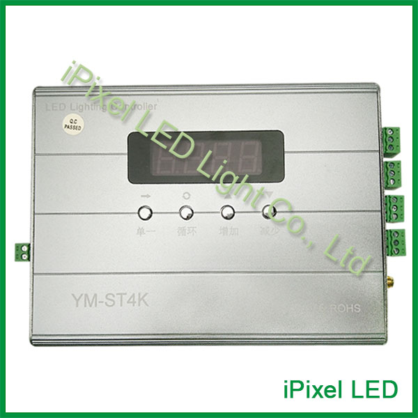 high speed transmission and stable communication 2048 pixels LED controller with sd card support marital communication