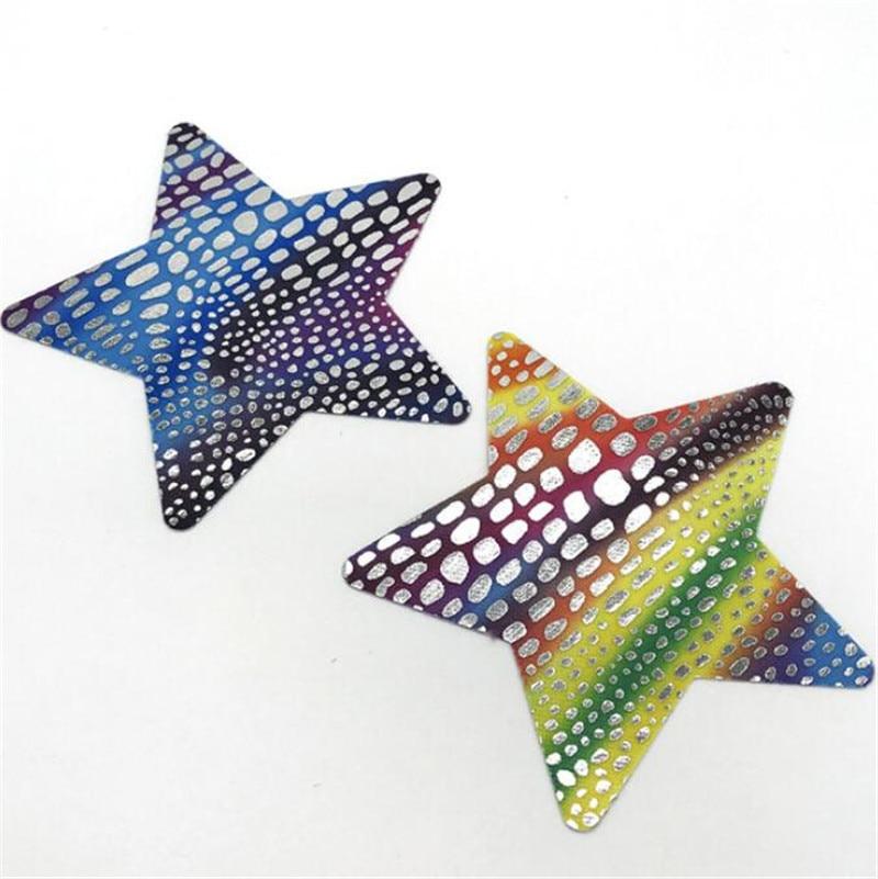 10pairs (20 Pcs) /lot woman Breast Petals Nipple Covers Ink fish scales disposable