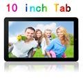 10 pulgadas Quad Core Tablet Android 1 GB RAM 16 GB ROM HDD LCD FM WIFI HDMI Tablet pc Ranura