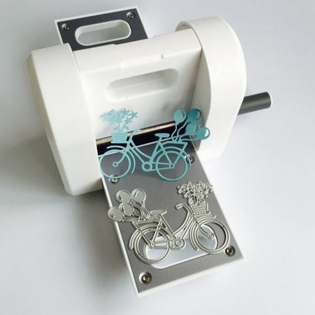Machines à découper le papier à manivelle papier Art main secouer la Machine de gaufrage bricolage couteau Die jouets de développement pour les enfants