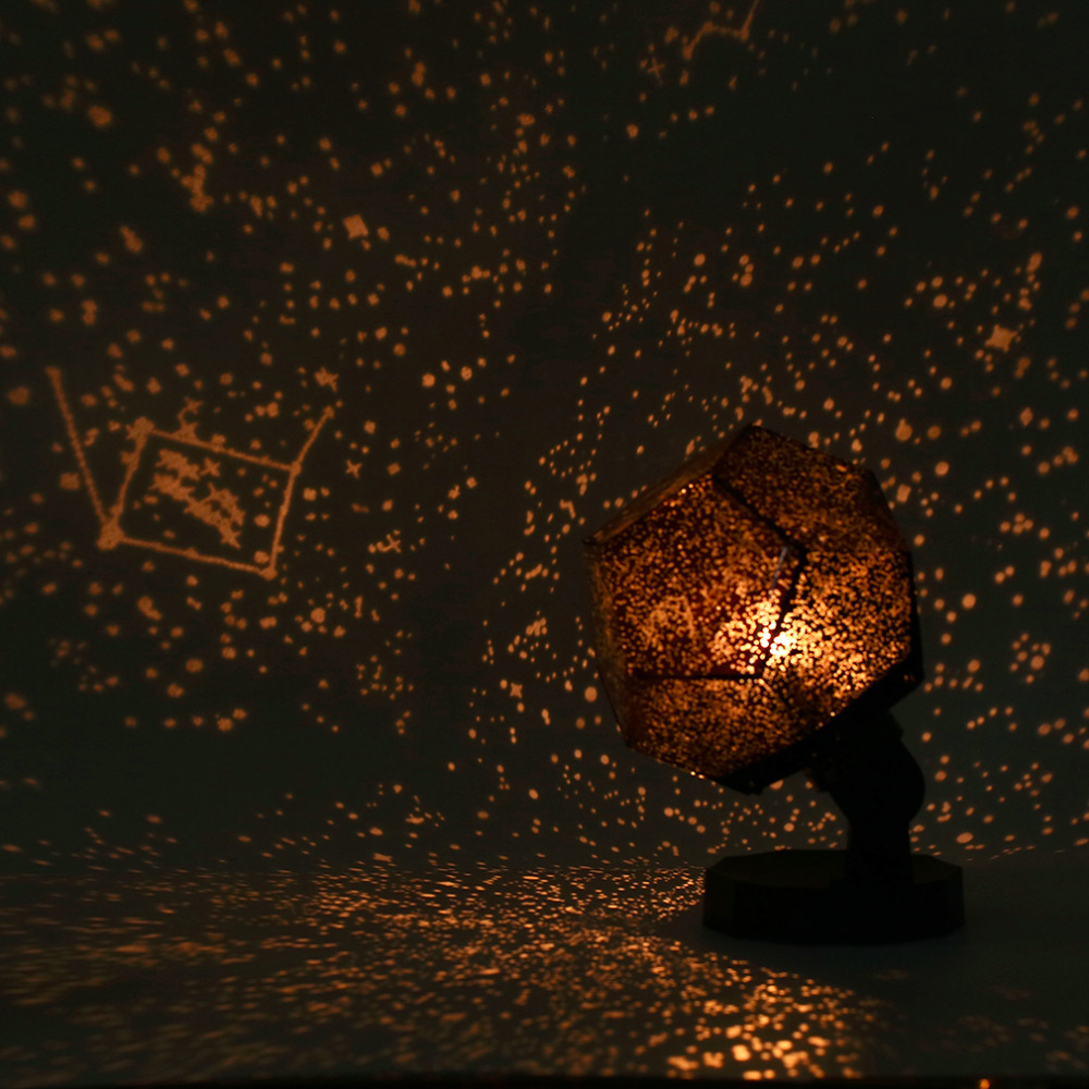 Star projector lamp night - Celestial Star Astro Sky Projection Cosmos Night Lights Projector Night Lamp Starry Romantic Bedroom Decoration Lighting