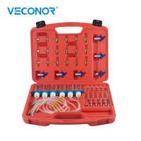 Veconor Diesel Injector Flow Meter Test Cylinder Common Rail Adaptor Fuel Tester Set Kit