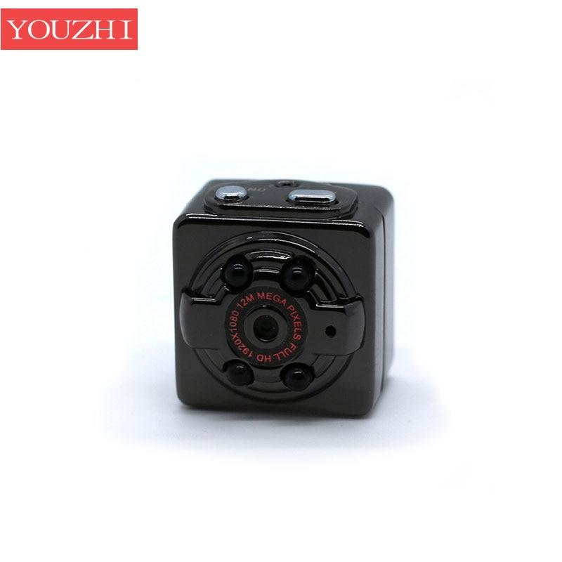 SQ8 Mini Car DVR Camera HD 1080P Camera Night Vision Motion Detection Camcorder Video Recorder Micro Car Camera body cam YOUZHI