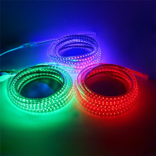 220V 3014 Led Strip Waterproof With EU Power plug IP67 120Leds/M Flexible LED Tape Ribbon Outdoor 1M 2M 3M 5M 10M 15M 20M 30M