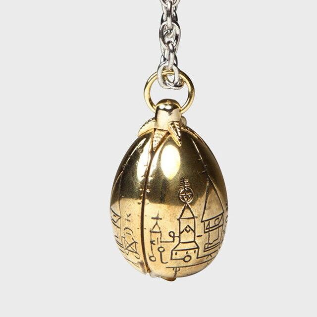 Freeshipping 1 ШТ. Золотое Яйцо Ожерелье KHDK01