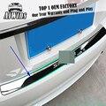 Подходит для 2015-2016 Honda SPIRIOR внешний  взаимодействующий Задний бампер протектор загрузки палубный люк панель крышка багажника порога пластин...