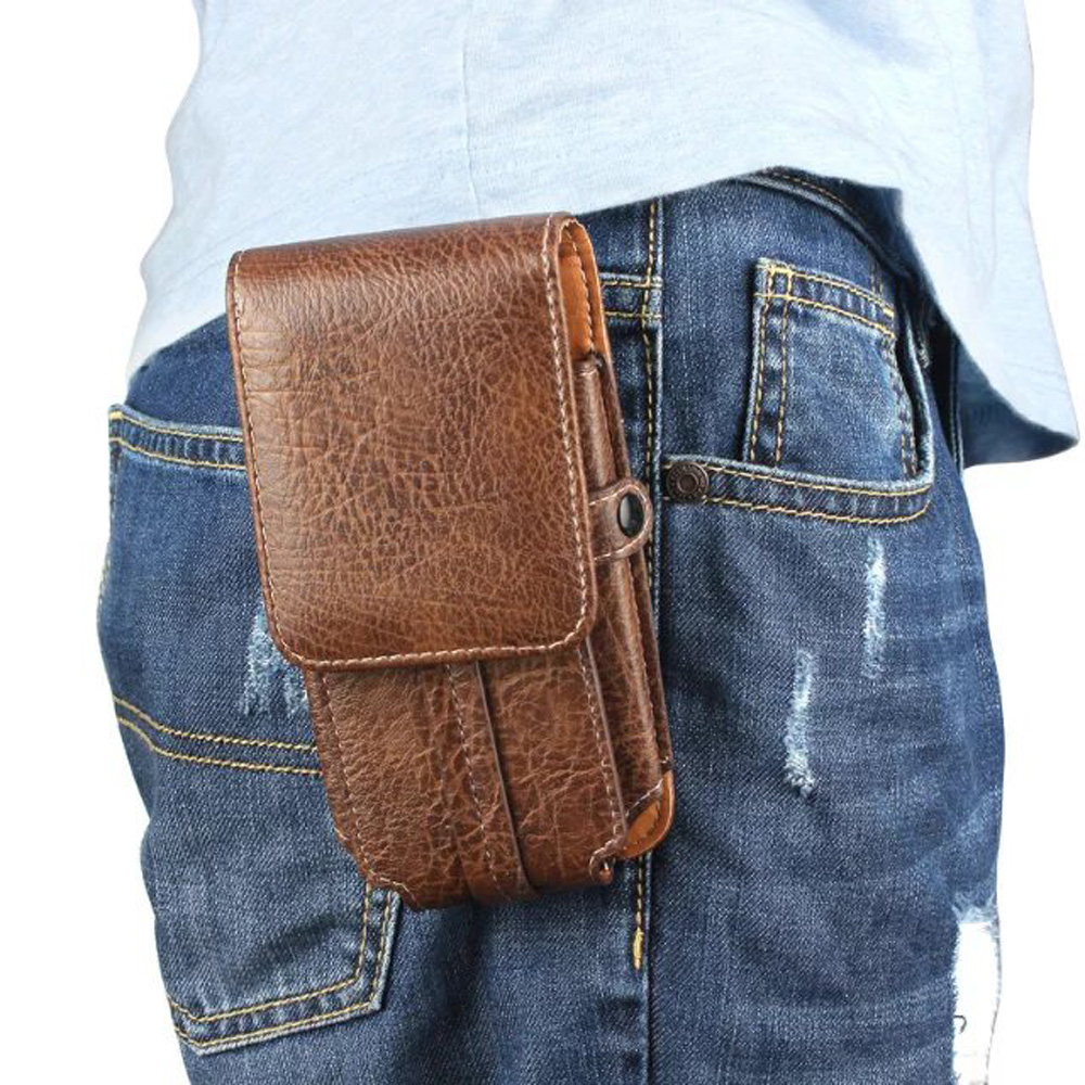 Vertical Horizontal Man Belt Clip Mobile Phone Cases Pouch Outdoor Bags For Huawei Honor Magic,Coolpad Cool S1,Meizu M5S