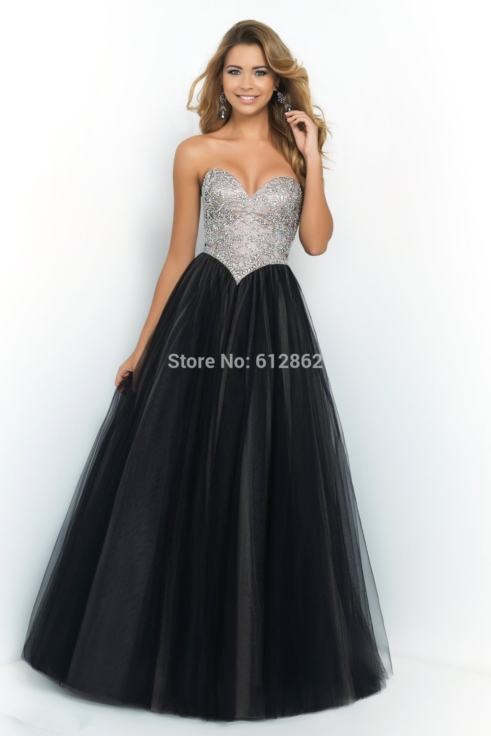 Popular Silver Strapless Prom Dress-Buy Cheap Silver Strapless ...