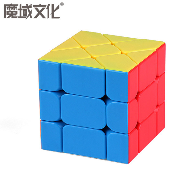 Moyu Meilong MoFangJiaoShi 3x3 Windmill Axis Fisher Magic Cube 3x3x3 Puzzle Twist Educational Kid Toys Games 2
