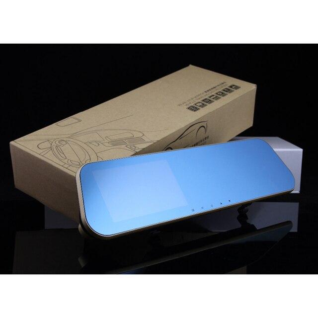 Автомобильная камера заднего вида авто видеорегистраторы автомобилей видеорегистратор с двумя объективами dash cam video recorder регистратор видеокамера полный hd1080p ночного видения