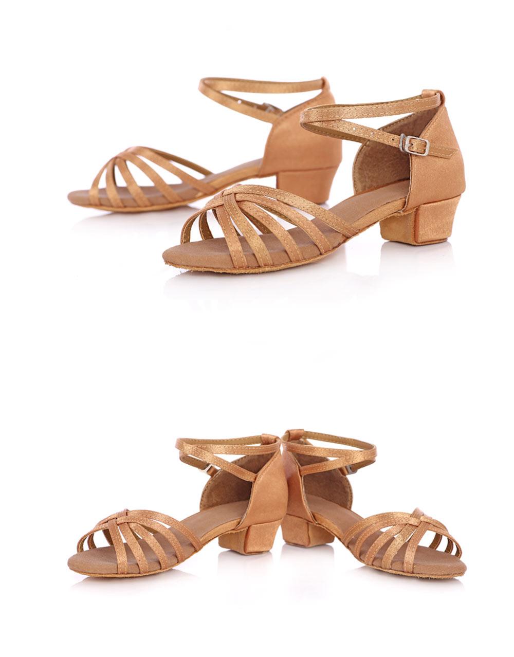 New Arrival Ballroom Tango Latin Dance Shoes High Quality Latin Woman Dancing Shoe Wholesale Women'S Heel Shoes Fast Shipping (9)