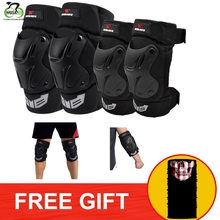 WOSAWE Adjustable Straps Sports Knee Elbow Pads EVA Protector Cycling Motorcycle Ski Snowboard Bike Volleyball Brace Support
