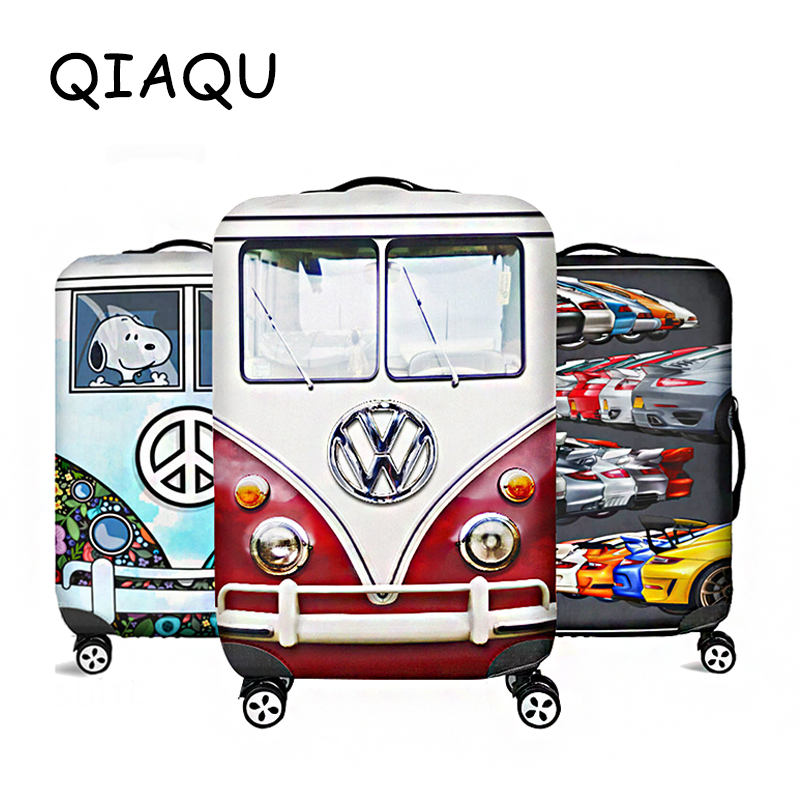 QIAQU High Quality Luggage Suitcase Cover Hot Sale Travel Accessories Elastic  Dust Cover Suitable For 18'' - 32'' Suitcases