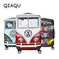 QIAQU высококачественный чехол для чемодана горячая Распродажа аксессуары для путешествий эластичный пылезащитный чехол подходит для чемод...