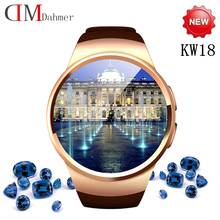 2016 heißesten Smart Uhren KW18 Voll IPS Screen bluetooth smartwatch Fitness Tracker Apps Für IOS Android mp3 PK M8 L10 Geak LEM1