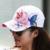 Nova marca de Verão 2016 Bordado Boné De Beisebol Das Mulheres Da Forma Da Senhora Ciclismo pala de Sol Chapéu Cap Hip Hop Floral Fresco Cool & Bonito
