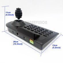 4-Axis CCTV cámara RS485 controlador analógico AHD alta velocidad cámara domo PTZ sistema de equipo de controlador de teclado Joystick 4KD DHL