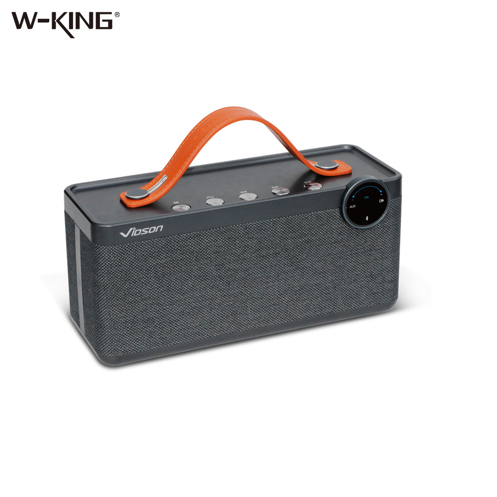 W-king Speakers Portable Wireless Bluetooth Speaker Bass Sound Subwoofer Wireless Sound Box 25W Powerful Bluetooth Speakers hot felyby portable bluetooth speaker outdoor usb wireless mp3 speaker powered audio music speakers shockproof subwoofer