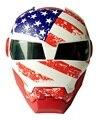 2017 EE.UU. 610 MASEI IRONMAN Casco media Cara casco de Moto Moto Casco TAMAÑO: S M L XL