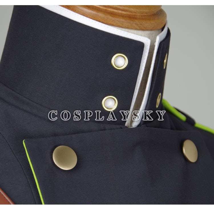 Seraph of the End Owari no SerafuYuichiro Hyakuya Uniform Cosplay Costume_06