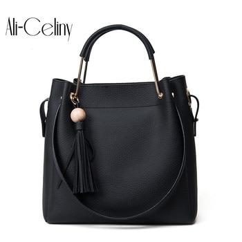 2017 designer Brand Leather bolsas femininas Women bag ladies Pattern Handbag Shoulder Bag Female Tote Sac Crocodile Bag 2 in 1