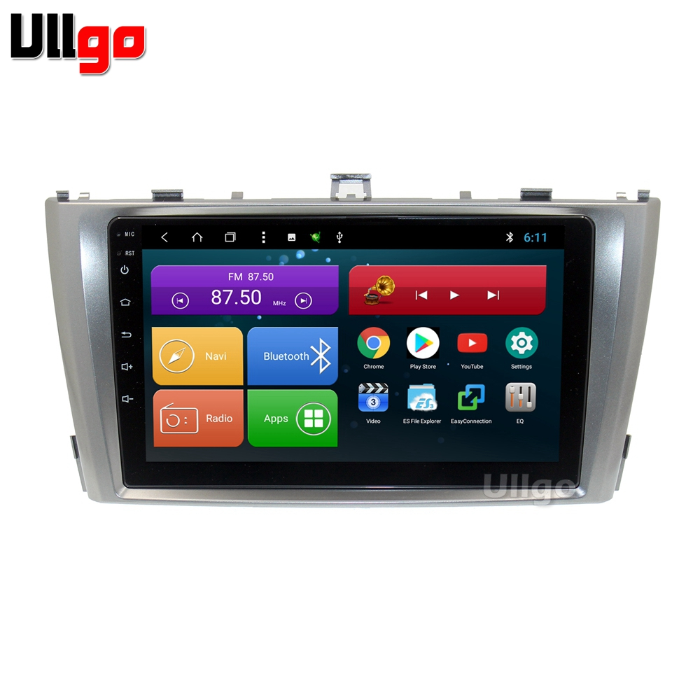 9 inch Octa Core Android 8 1 font b Car b font DVD GPS for Toyota
