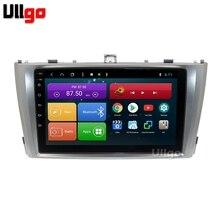 9 pollici Octa Core Android 8.1 Automobile DVD GPS per Toyota Avensis T27 2009-2015 Autoradio GPS Per Auto Testa unità con BT Radio RDS Wifi